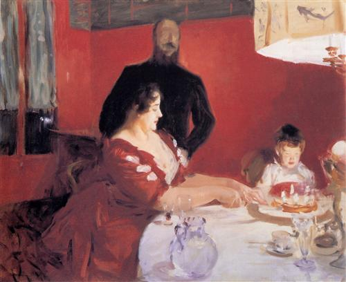 The Birthday Party - John Singer Sargent