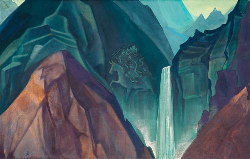 Palden Lhamo - Nicholas Roerich
