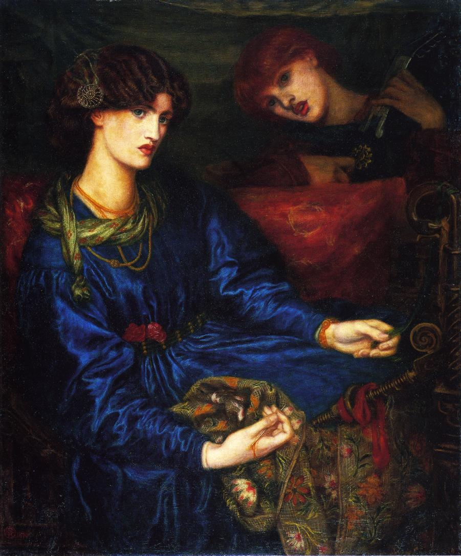 Image result for Rossetti Mariana