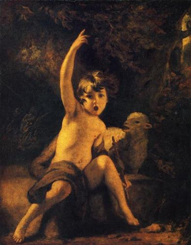 St. John the Baptist in the Wilderness - Joshua Reynolds