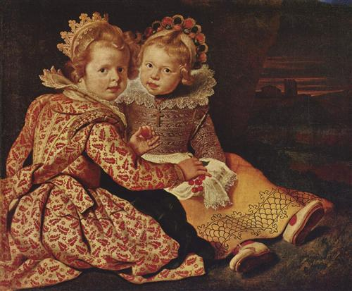 Two daughters of the painter - Cornelis de Vos