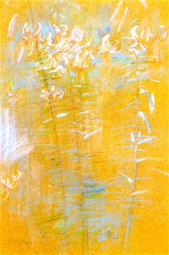 Tiger Lilies - John Henry Twachtman