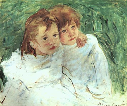The Sisters - Mary Cassatt