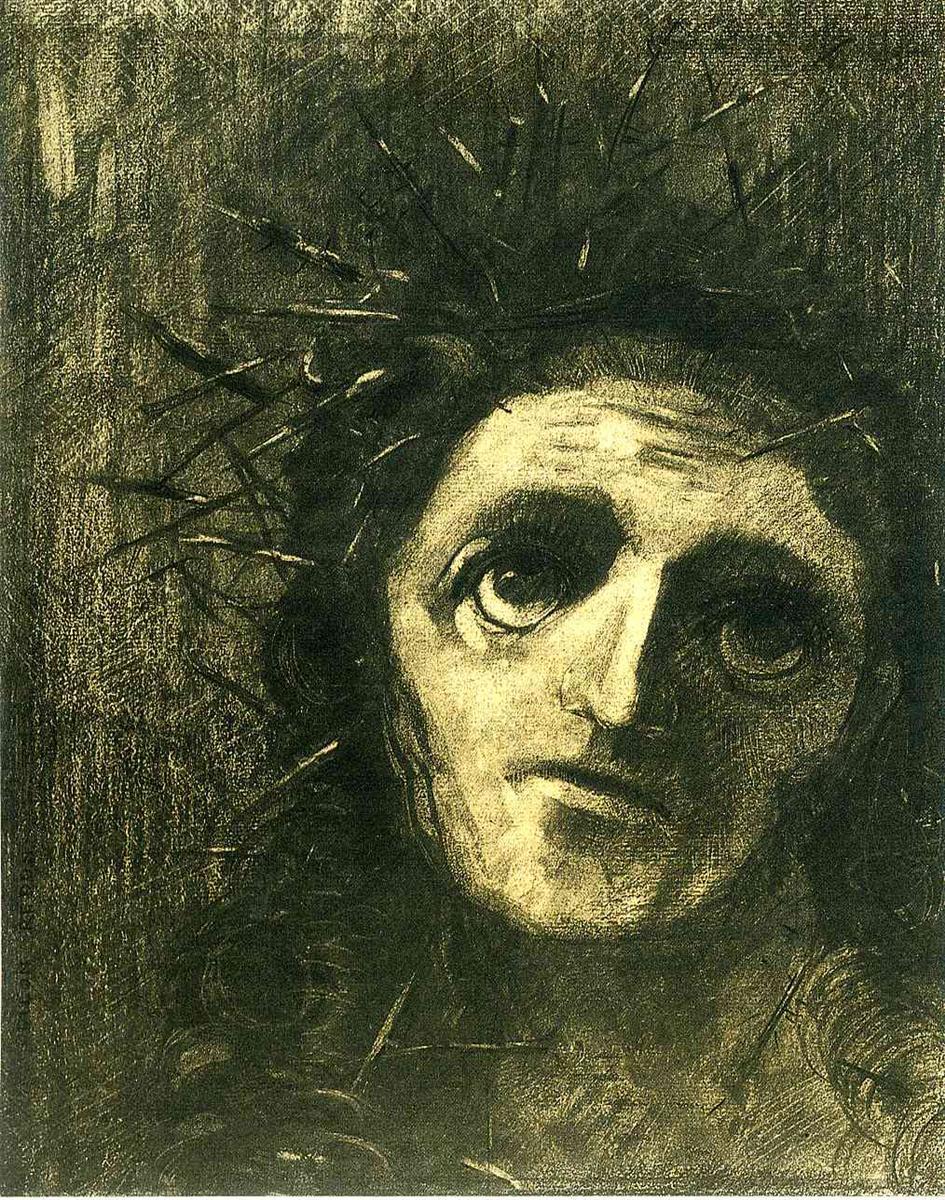 Christ by Odilon Redon