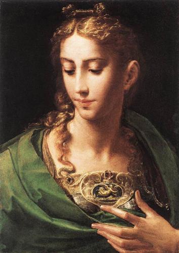 Pallas Athene - Parmigianino