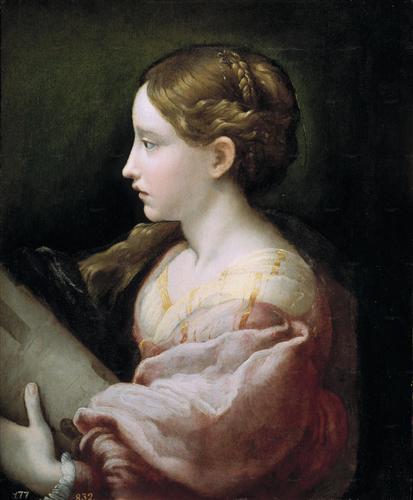Saint Barbara - Parmigianino