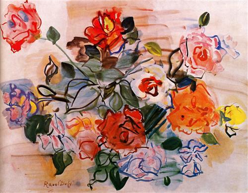 Pink bunch - Raoul Dufy