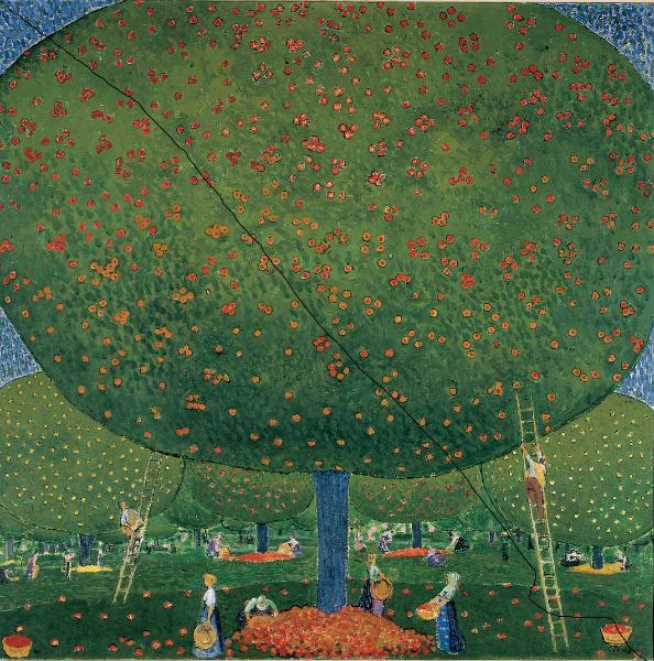 Apfelernte 1907 Cuno Amiet