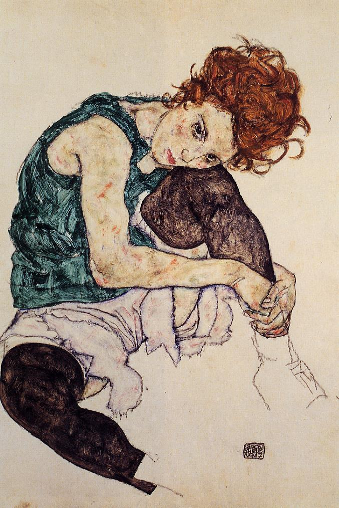 Image result for schiele