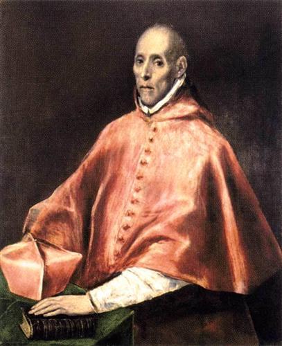 Портрет Кардинала Таверы - Эль Греко