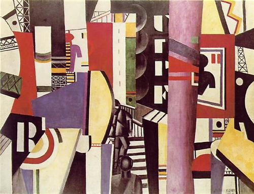 The Сity - Fernand Leger