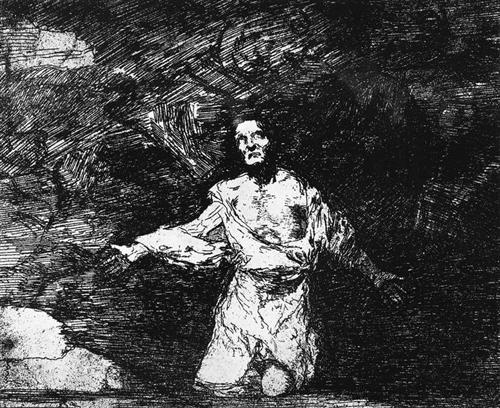 Francisco Goya, Romanticism,capriccio.allegories -and-symbols, 1810