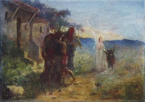 Return of Tobias - Nikolai Ge