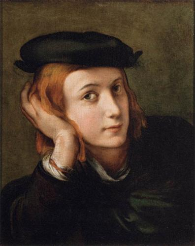 Portrait of a Young Man  - Parmigianino