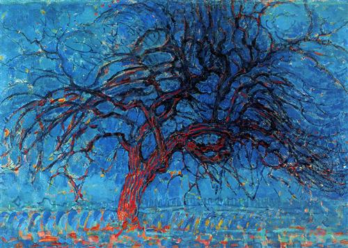 Piet Mondrian - Avond (Evening): The Red Tree (1910)