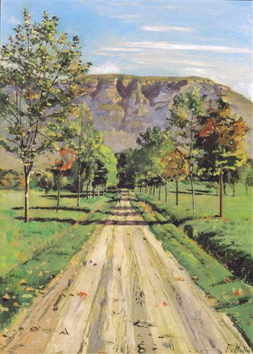 The road to a particular interest - Ferdinand Hodler