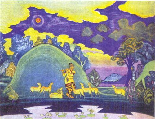 Krishna-Lel - Nicholas Roerich