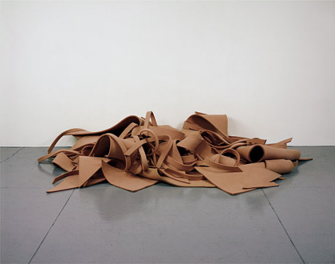Robert Morris, Untitled (Pink Felt), 1970, © Robert Morris