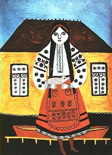 My dear has fallen in love with brigadier, Maria Prymachenko, ideas for Marimekko, folk art, naive
