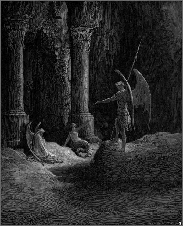 Paradise Lost - Gustave Dore - WikiArt.org