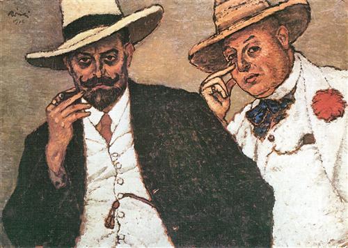 Lajos und Odon  - Jozsef Rippl-Ronai