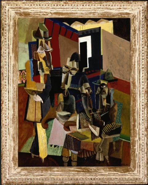 Painting Max Weber Russian Ballet