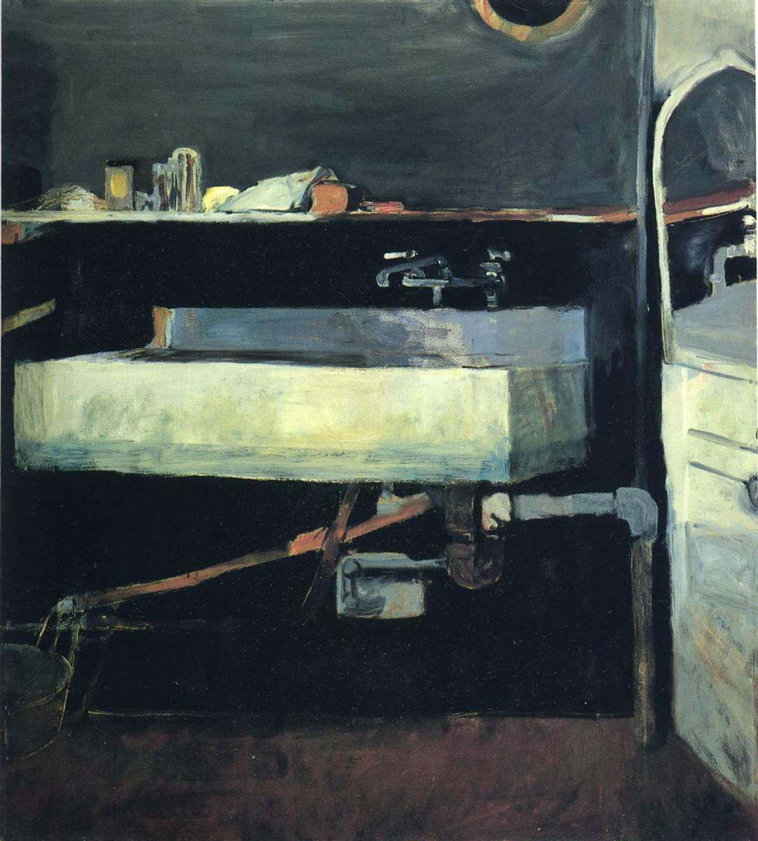 Corner Of Studio Sink U2014 Richard Diebenkorn