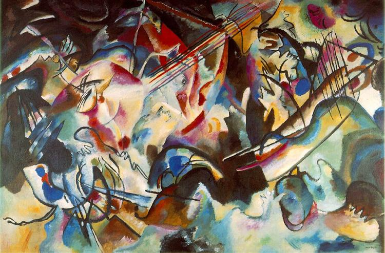Composition IV  1911   Wassily Kandinsky   WikiArt org Composition VI  bullet  1913