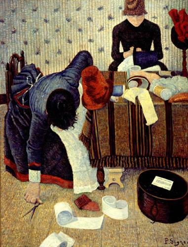 The Milliner - Paul Signac