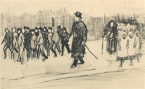 Orphans - Vincent van Gogh