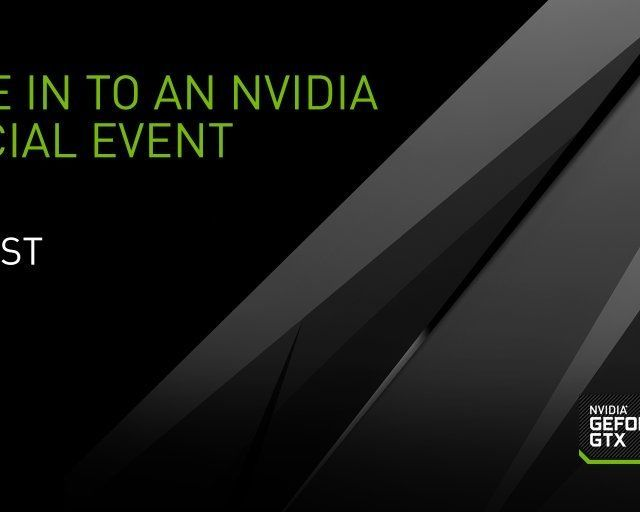 Nvidia Pascal Live Stream May 6th 6pm Pacific