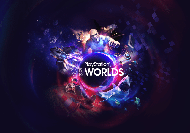 PlayStation VR Worlds Logo