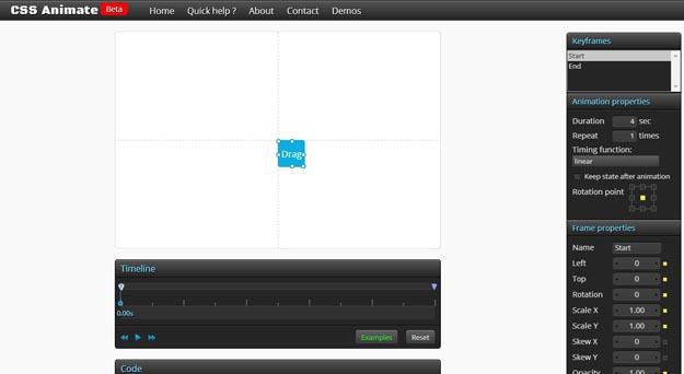 3-CSS3-Keyframes-Animation-Generator