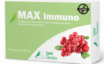 REFUERZA tus DEFENSAS con MAX Immuno
