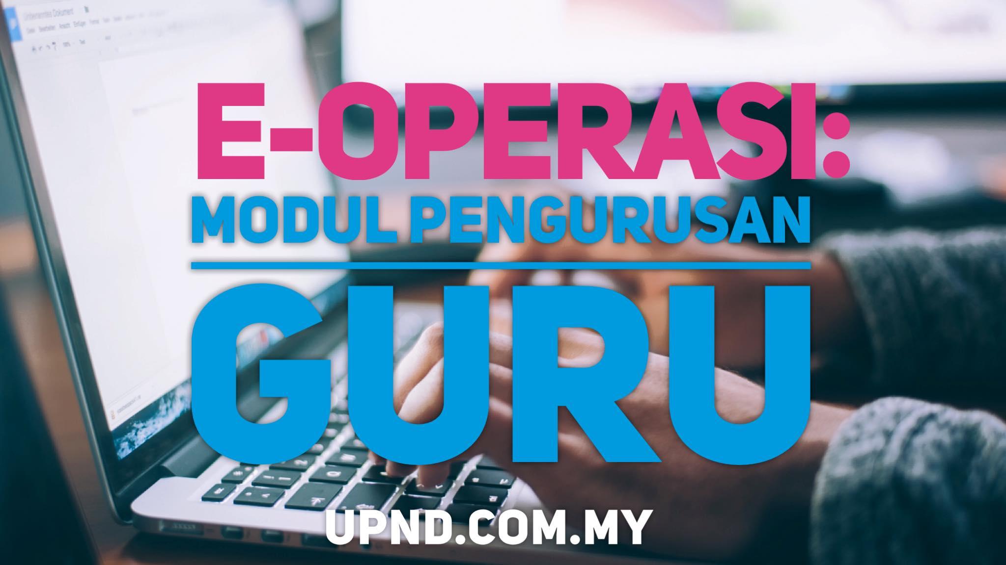 login e-operasi