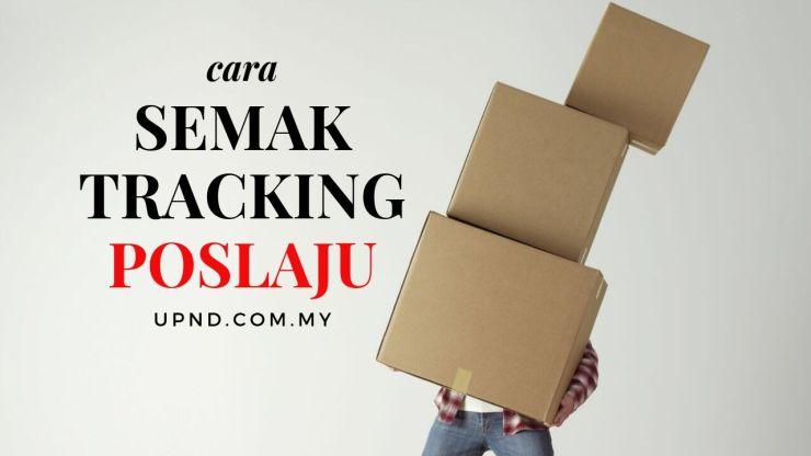 semak tracking poslaju