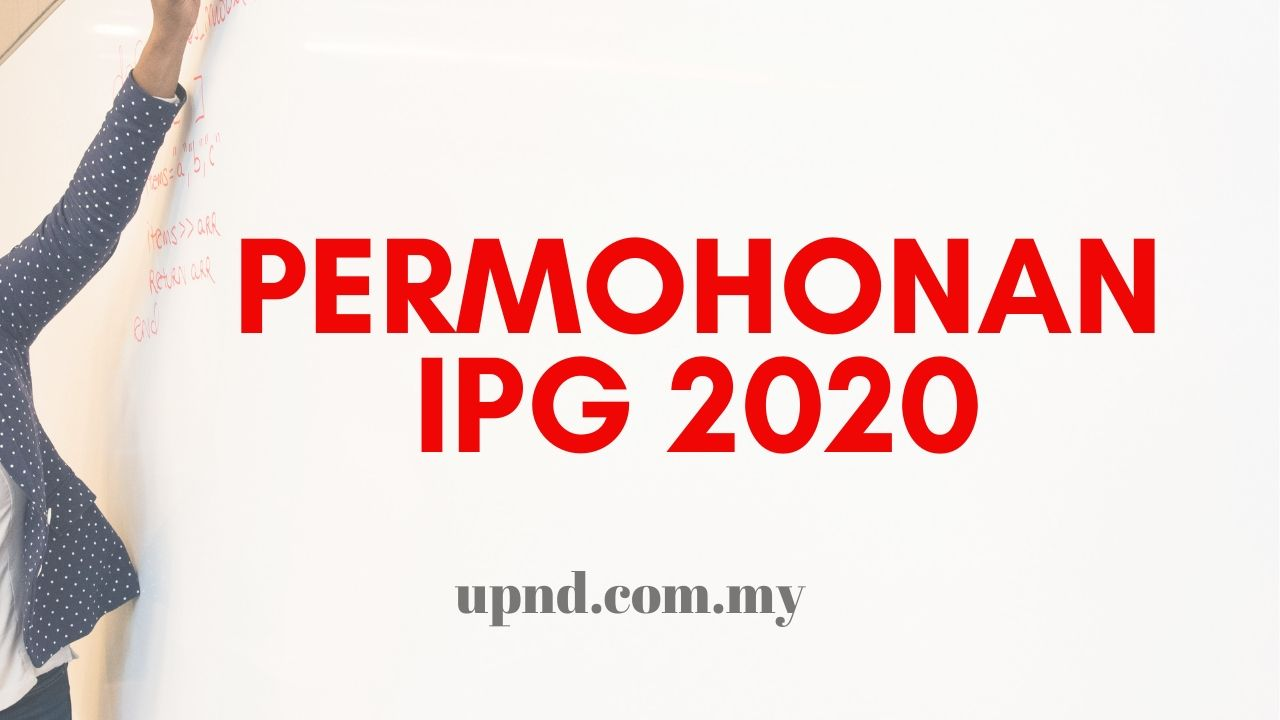 ipg 2020 mohon
