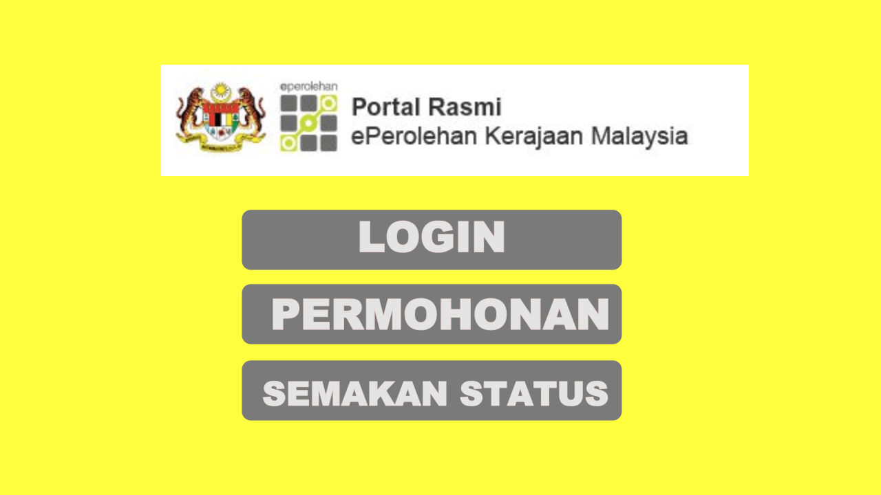 login eperolehan