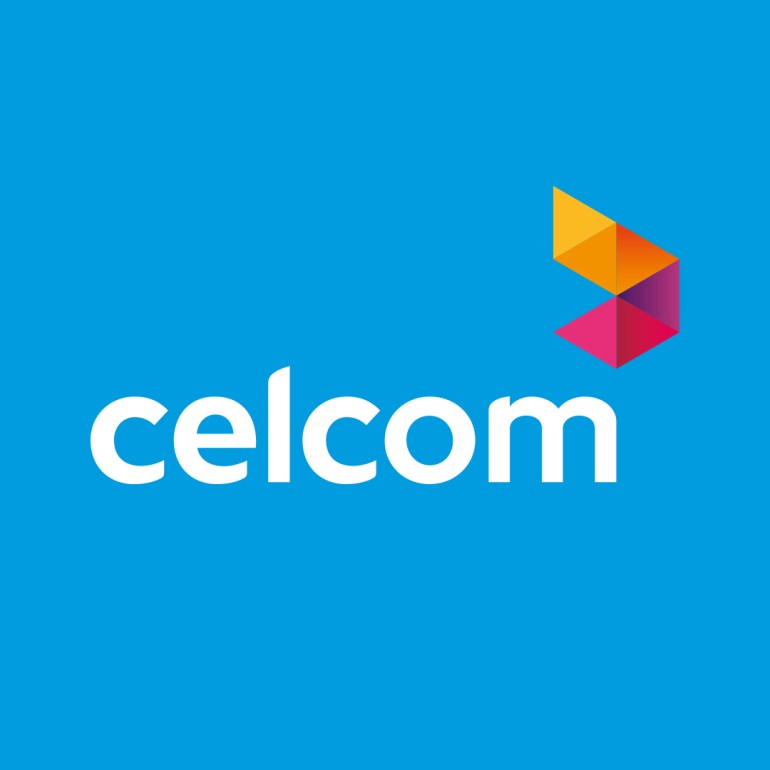 celcom logo cara dapatkan