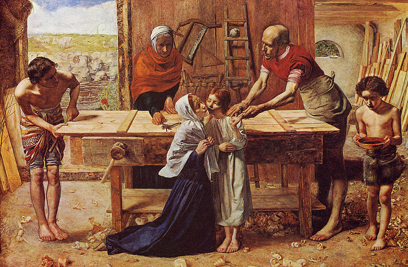 800px-Millais_-_Christus_im_Hause_seiner_Eltern