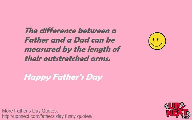 Fun Quotes for Dad on Fathers Day