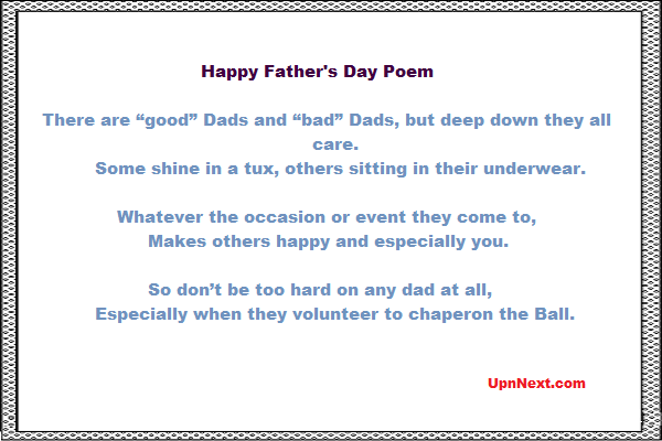 fathers day poems pics 2017