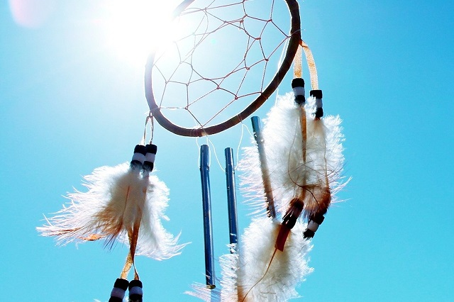 dream catcher gift for father by preschoolers