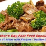 Father's Day Fast Food Ideas 2018