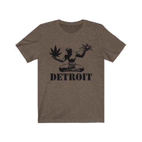 UpNorth Tee -  New Spirit of Detroit - Michigan Marijuana - Free Shipping