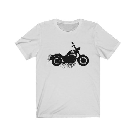 UpNorth Tee - Biker Roots - Motorcycle Family Roots