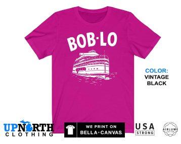 UpNorth Tee - Bob-Lo Boat - Boblo Boat - Detroit Michigan - Boblo Shirt - Free Shipping