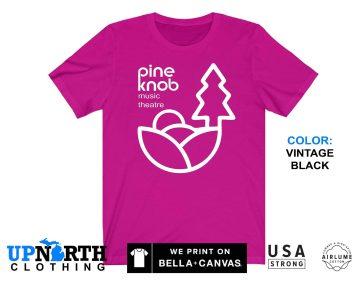 UpNorth Tee - Pine Knob Music Theatre  (Standard Print) - Clarkston Michigan - Michigan T-Shirt - Free Shipping