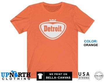 UpNorth Tee - Detroit Pop Style Shirt - Faygo Pop Style Logo - Free Shipping