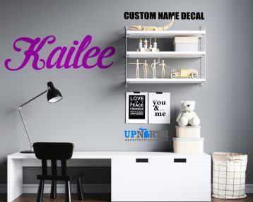 Name / Lettering Decals